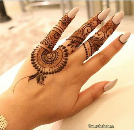 Easy Arabic Mehndi Design