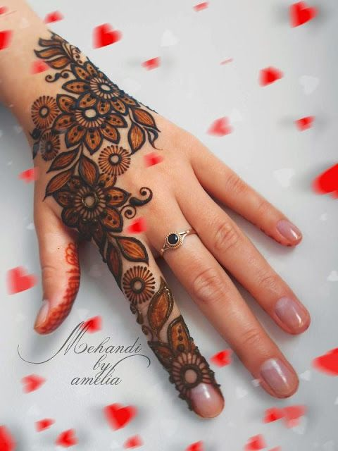 arabic latest mehendi design