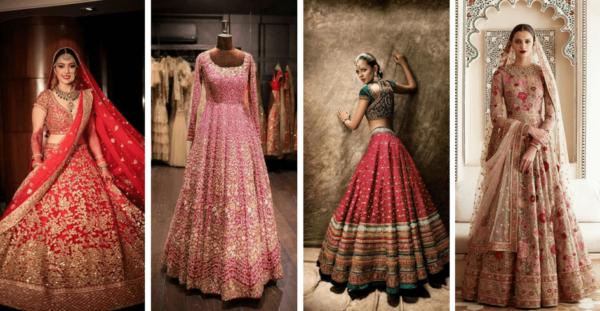 Bridal Lehenga Designs Images for Wedding Reception 2021