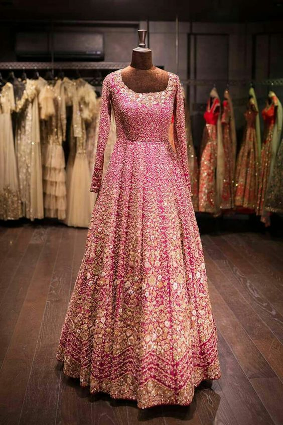 latest bridal lehenga design 2019
