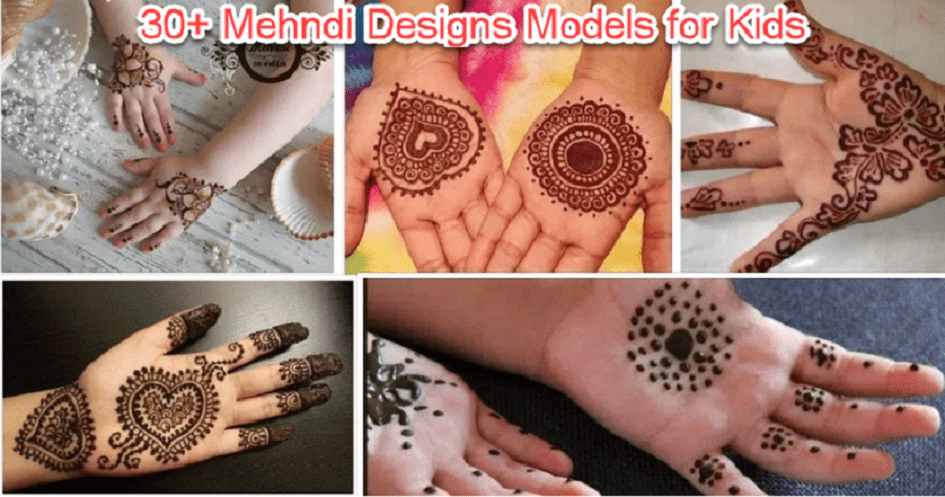 e8f1dc141887f 30+ Latest Mehndi Designs for Kids 2018-2019. Kids….Babies… OMG, when we  hear these words somehow in our heart we will feel refreshing.
