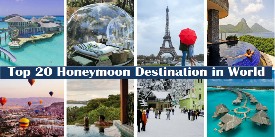 Honeymoon Places 2021