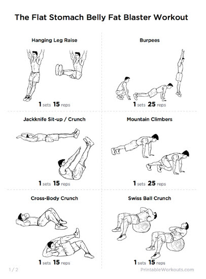how to lose belly fat exercise