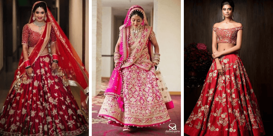 Designer Bridal Lehenga Designs for 2021 Brides