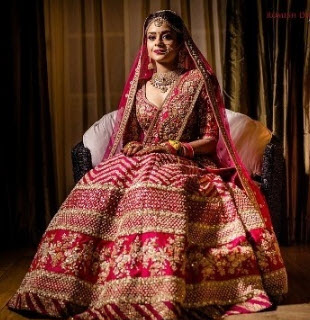 lehenga with zardosi work