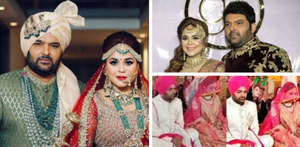 kapil sharma wedding pics