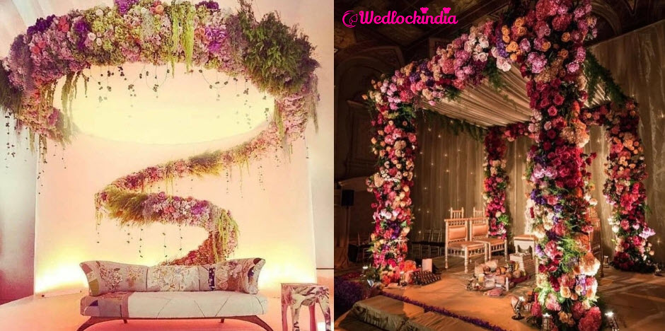 Top 15 Best Stage Decoration Ideas For Wedding Reception 2019