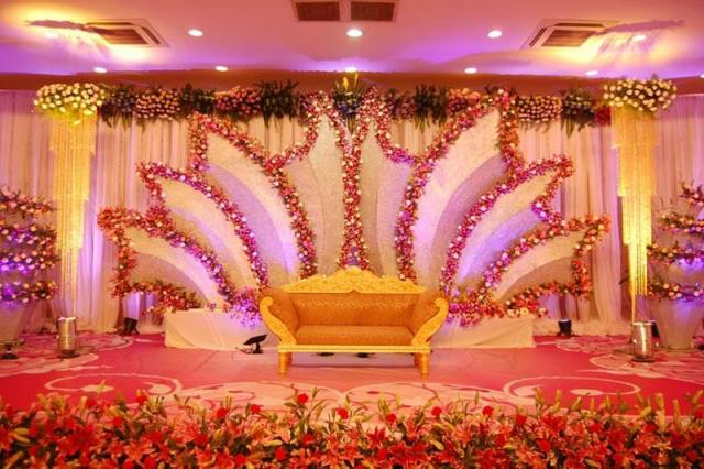 Indian traditional stage decor
