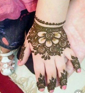 15+ Simple and Easy Latest Mehndi Designs for Kids 2019 \u0026 2020