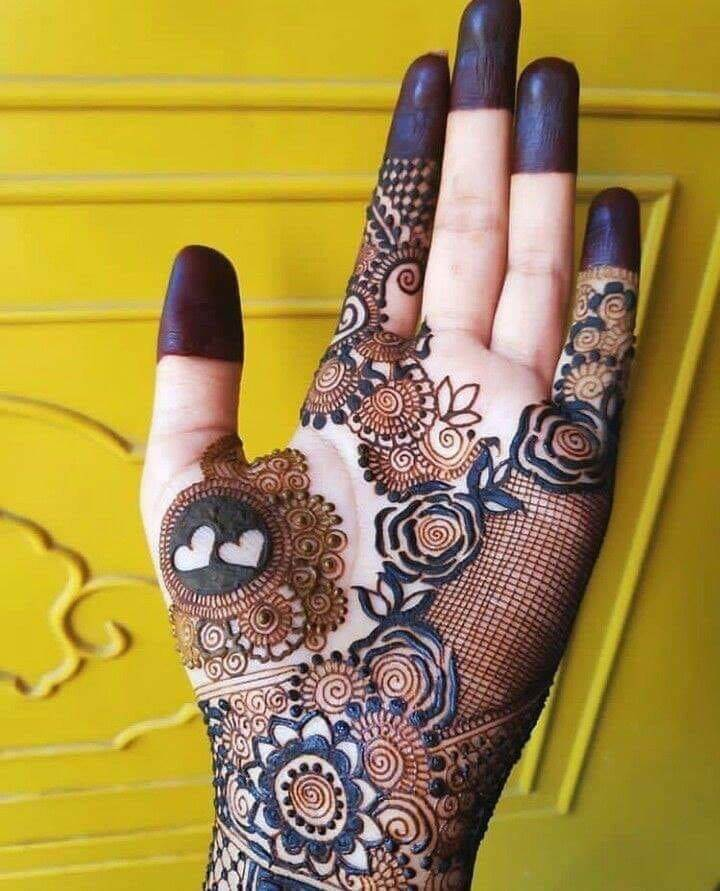 Arabic Bridal Mehndi Design 2019