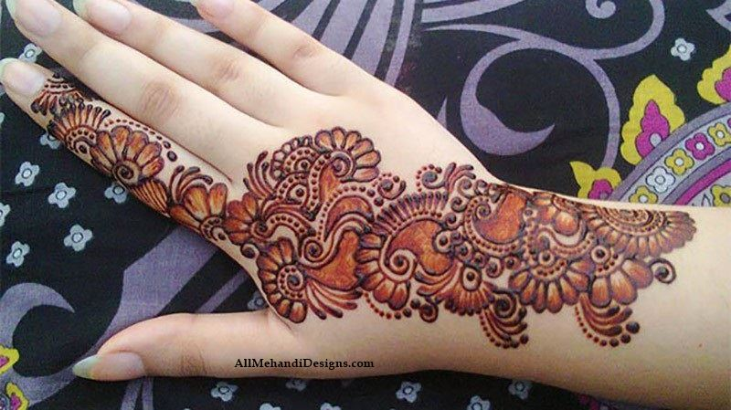 arabic bridal mehndi designs