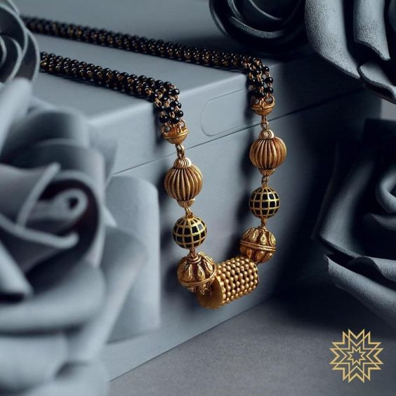 Gold Mangalsutra Design with Price