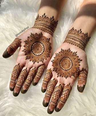 Diwali Mehndi Designs 2021