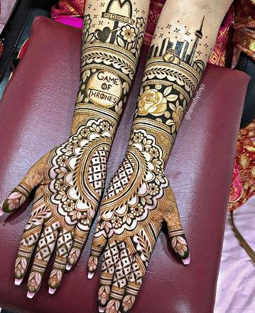 mehndi designs easy and simple 2020