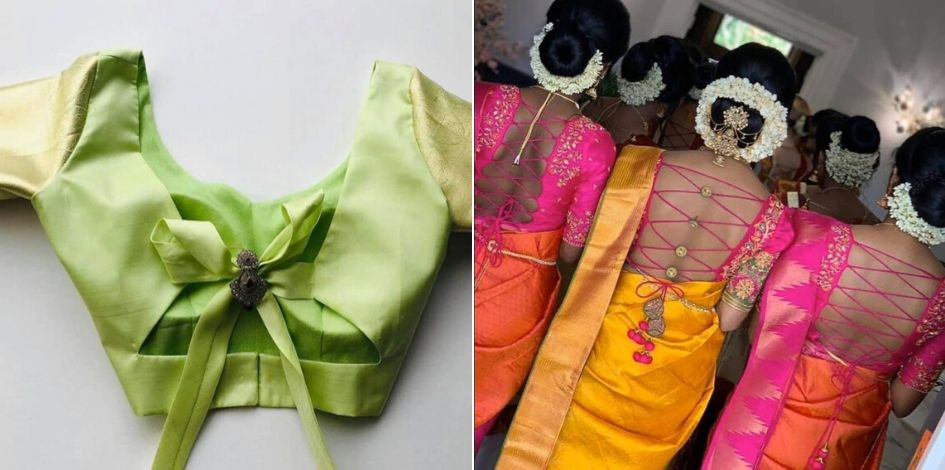 Simple Blouse Designs for Daily Wear Sarees