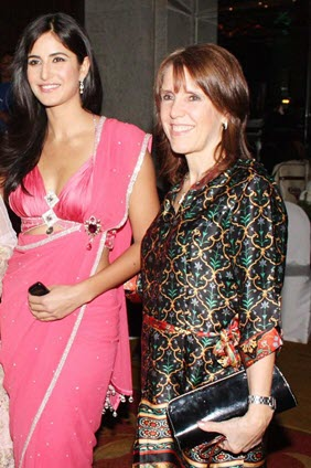 Katrina Kaif with mother Suzanne Turquotte